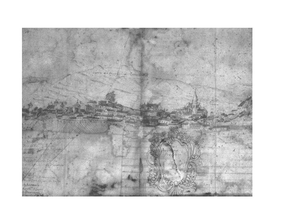 Perfil da cidade de Aveiro, 1770-1775 ( ) [Museu de Aveiro
